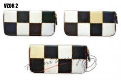 Károvaná peněženka vzor 2