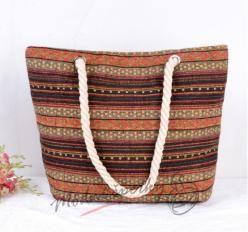 Velká plátěná taška - etno