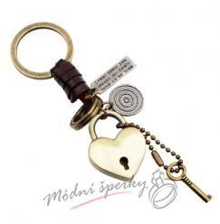 Klíčenka zámek s klíčkem