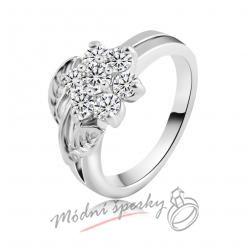 Prsten s květinkou