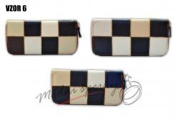 Károvaná peněženka vzor 6