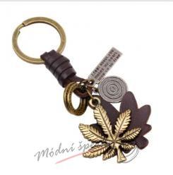 Klíčenka lístek marihuany