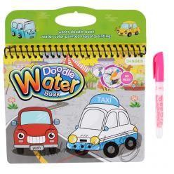 Vodní omalovánky - auta