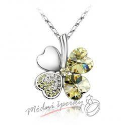 Sweet Four-leaf jonquil s krystaly SWAROVSKI ELEMENTS