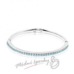 Náramek s krystaly Swarovski Elements tiny stones light blue