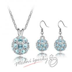 Sparkling ball set blue – s krystaly SWAROVSKI ELEMENTS