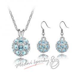 Sparkling ball set blue – s krystaly SWAROVSKI ELEMENTS