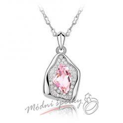 Cave pink stone s krystaly swarovski eemnts