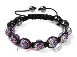 Shamballa nárakem purple rainbow