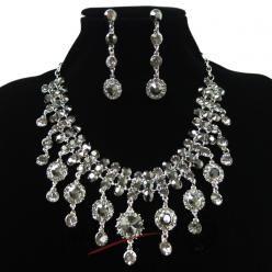 Sparkling diamonds set šedý