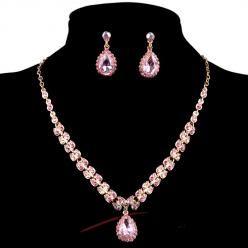 Sparkling crystal set růžový