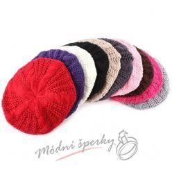 Pletené barety