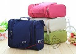 Kosmetické tašky velké s bočními kapsami