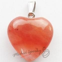 Srdce cherry krystal