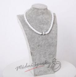 Třpytivý náhrdelník čirý