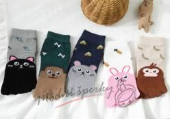 Dětské prstové ponožky