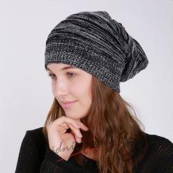 Melírovaná dámská čepice