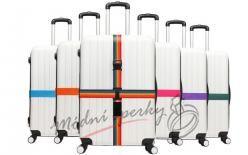 Stahovací pás na kufr