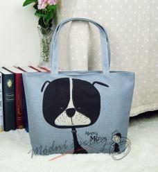Plátěná taška - pes