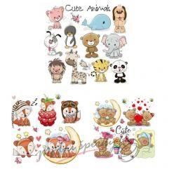 Nažehlovačky - cute animals