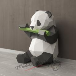 3D skládačka panda