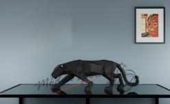 3D skládačka puma