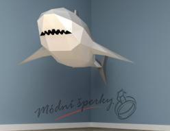 3D skládačka žralok