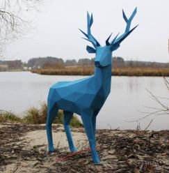 3D skládačka jelen