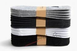 5 párů kotníkových ponožek