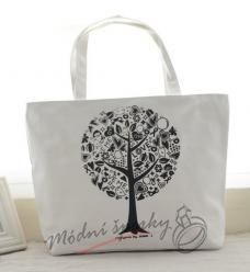 Plátěná taška - strom