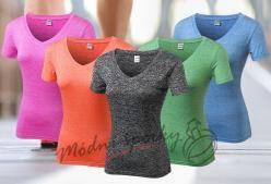 Sportovní tričko melírované
