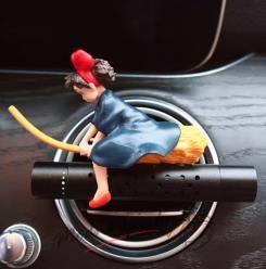 Vůně do auta - čarodějnice na koštěti