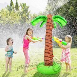 Nafukovací palma s ostřikovačem