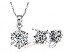 Zářivý šperk se zirkony
